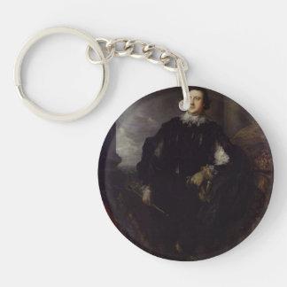Charles Howard, Norfolk by Thomas Gainsborough Acrylic Keychain