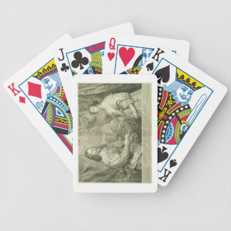 Charles I (1600-49) and Henrietta Maria (1609-69) Bicycle Poker Cards