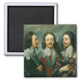 Charles I 2 Inch Square Magnet