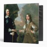 Charles I  and James, Duke of York , c.1647 3 Ring Binder