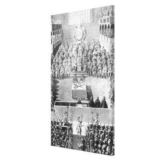 Charles I ante el Tribunal Superior de Justicia Lona Estirada Galerias