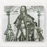 Charles I con sus niños Alfombrillas De Ratón