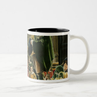 Charles I in the House of Commons Two-Tone Coffee Mug