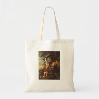 Charles I, King Of England At The Hunt by Van Dyck Canvas Bag