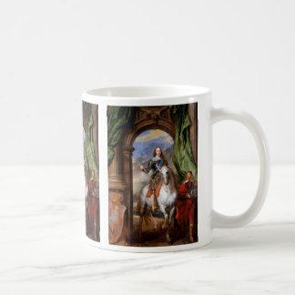 Charles I on Horseback by Van Dyck Coffee Mug