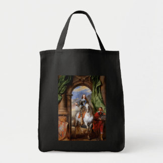 Charles I on Horseback by Van Dyck Tote Bag