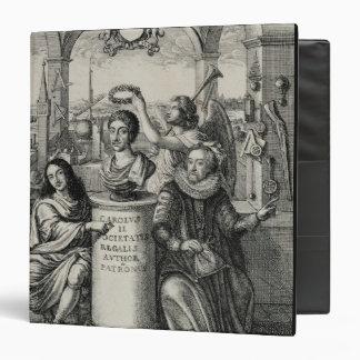 Charles II 1630-85 as Patron of the Royal Societ 3 Ring Binder
