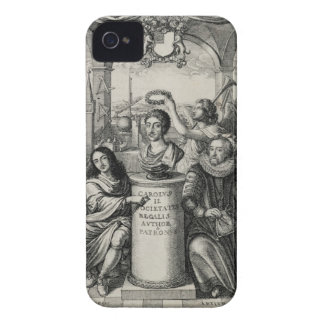 Charles II (1630-85) as Patron of the Royal Societ Case-Mate iPhone 4 Cases