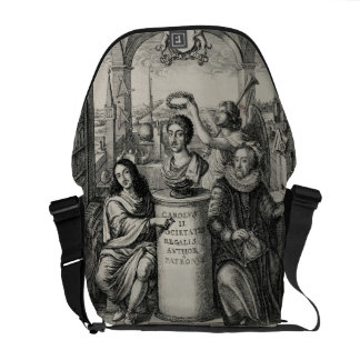 Charles II (1630-85) as Patron of the Royal Societ Courier Bags