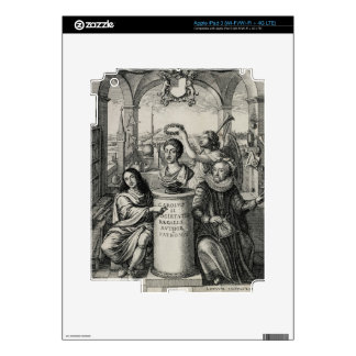 Charles II (1630-85) as Patron of the Royal Societ iPad 3 Decal