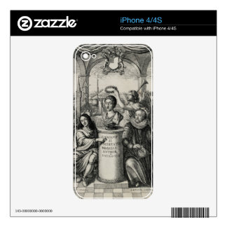 Charles II (1630-85) as Patron of the Royal Societ iPhone 4S Skin