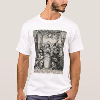 Charles II (1630-85) as Patron of the Royal Societ T-Shirt