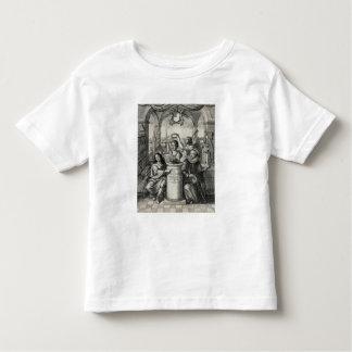 Charles II (1630-85) as Patron of the Royal Societ Toddler T-shirt
