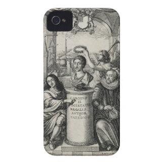 Charles II (1630-85) como patrón del Societ real iPhone 4 Case-Mate Protectores