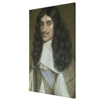 Charles II (1630-85) Impresión En Tela