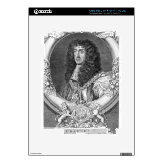 Charles II (1630-85) King of Great Britain and Ire iPad 3 Skin