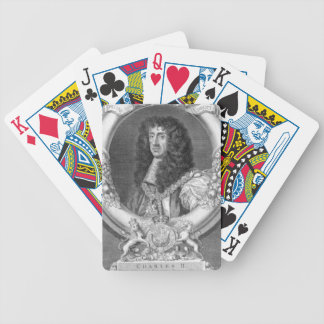 Charles II (1630-85) King of Great Britain and Ire Poker Cards
