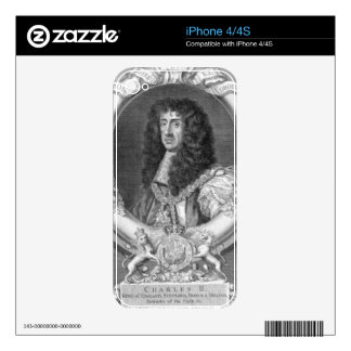 Charles II (1630-85) King of Great Britain and Ire Skin For iPhone 4S