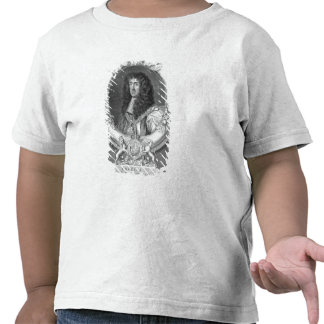Charles II 1630-85 King of Great Britain and Ire Tee Shirt