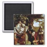 Charles II  and Nell Gwynne Fridge Magnets