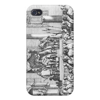 Charles II Crowned at Scone, 1651 iPhone 4 Cases