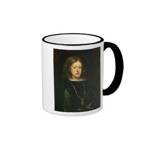 Charles II de España Taza De Dos Colores