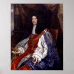 Charles II de Gran Bretaña y de Irlanda Poster