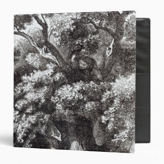 Charles II  Hidden in the Oak Tree 3 Ring Binder
