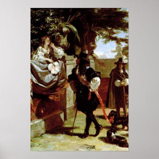 Charles II y Nell Gwynne Posters