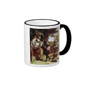 Charles II y Nell Gwynne Tazas
