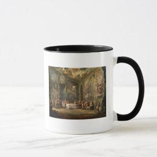 Charles III  de Borbon, lunching Before his Mug