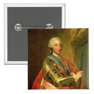 Charles III en armadura, después de 1759 Pin