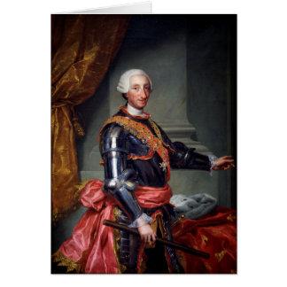 Charles III of Spain by Anton Raphael Mengs 1761 Card