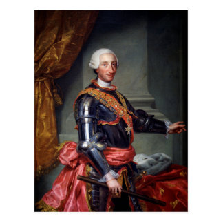 Charles III of Spain by Anton Raphael Mengs 1761 Postcard
