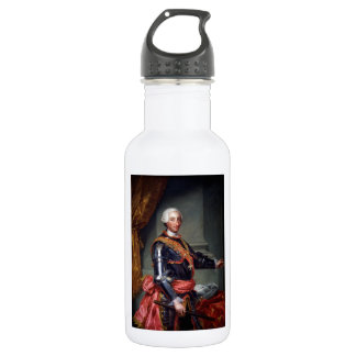 Charles III of Spain by Anton Raphael Mengs 1761 Water Bottle