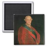 Charles IV 2 Inch Square Magnet