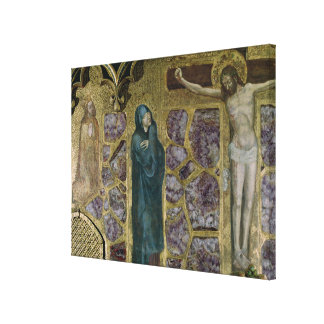 Charles IV at Prayer, Virgin and Christ of Gallery Wrap Canvas