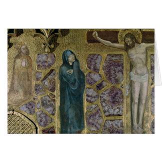 Charles IV at Prayer, Virgin and Christ of Card