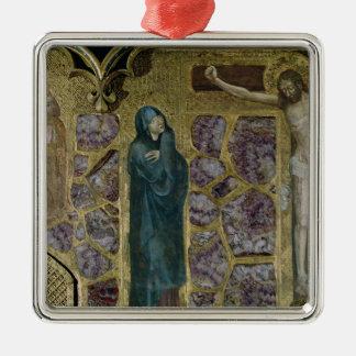 Charles IV at Prayer, Virgin and Christ of Metal Ornament