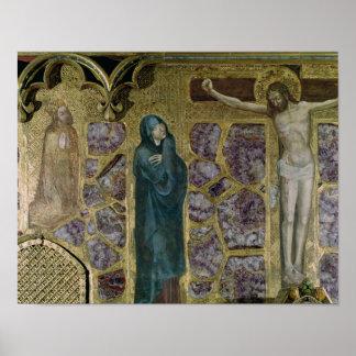 Charles IV at Prayer, Virgin and Christ of Poster