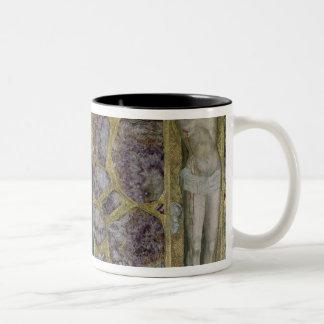 Charles IV at Prayer, Virgin and Christ of Two-Tone Coffee Mug