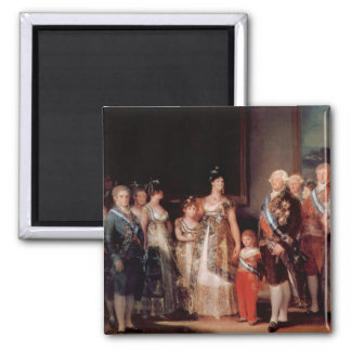 Charles IV of Spain and His Family - Goya Magnet