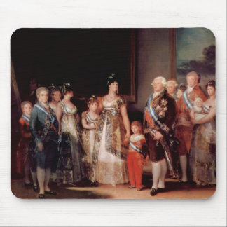 Charles IV of Spain and His Family - Goya Mouse Pad