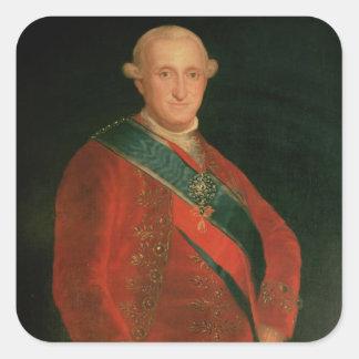 Charles IV Square Sticker