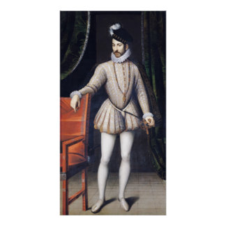Charles IX  King of France Poster