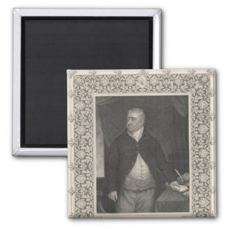 Charles James Fox 2 Inch Square Magnet