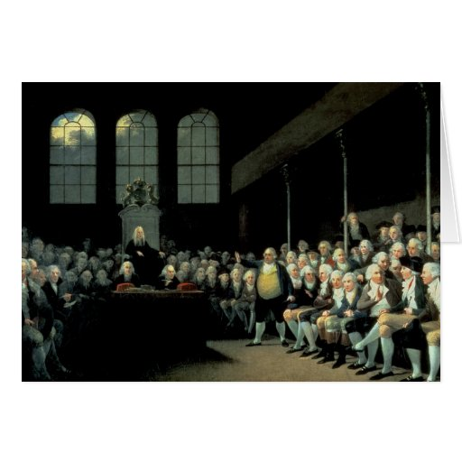 Charles James Fox  Addressing the House Cards