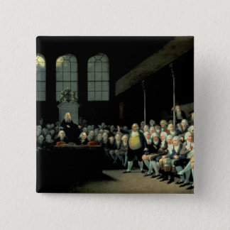 Charles James Fox  Addressing the House Pinback Button