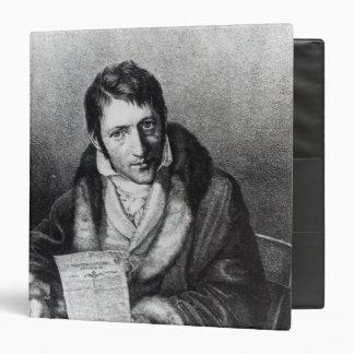 Charles-Joseph Panckouke holding 3 Ring Binder