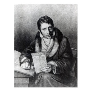 Charles-Joseph Panckouke holding Postcard
